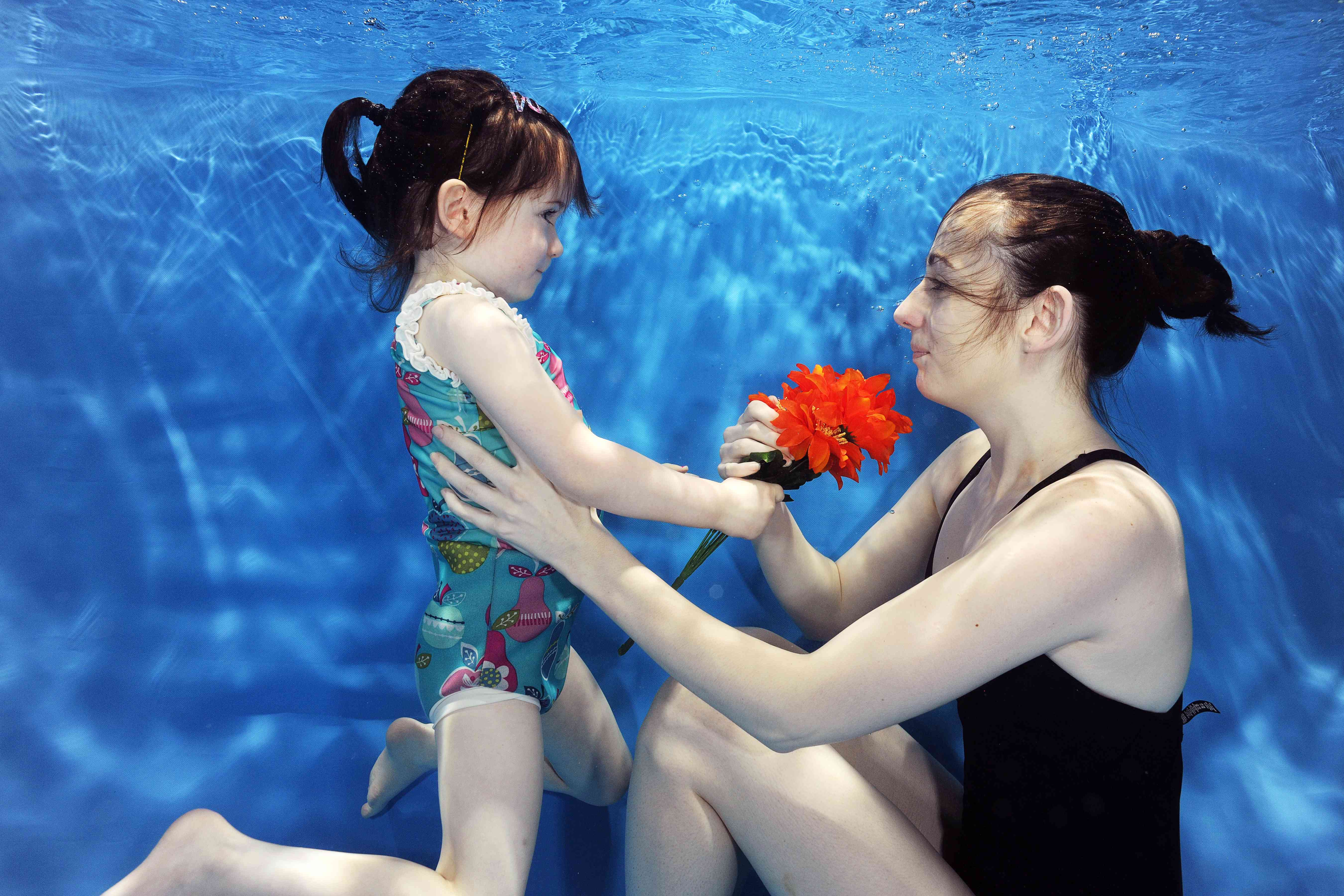 Babies swimming underwater inspiration photos - Aoife Fitzgerald Siobhan Fitzgerald Flowers