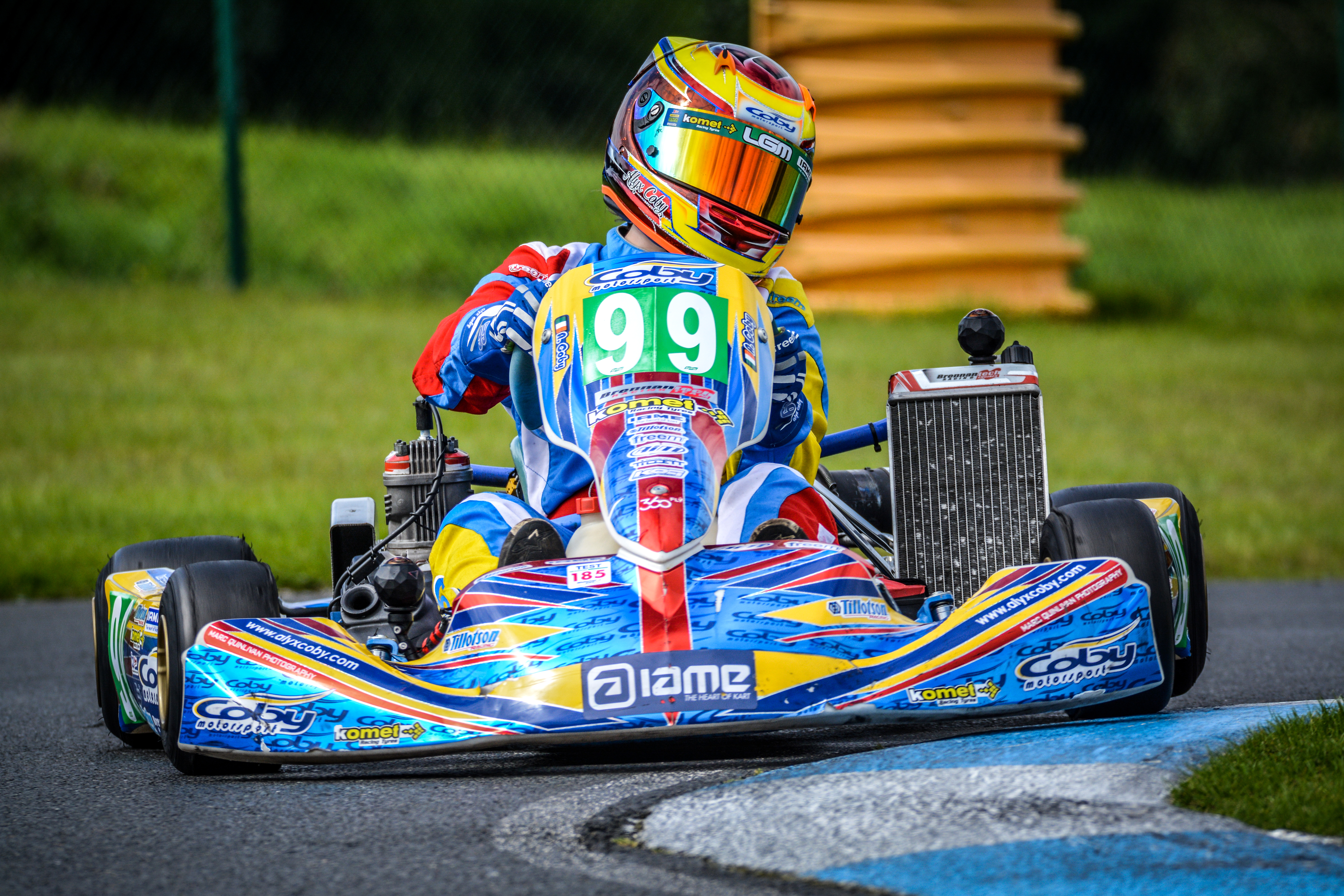 Second place and fastest lap for Alyx Coby at Whiteriver Park