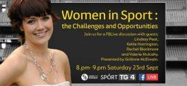 Women in Sport on Facebook Live