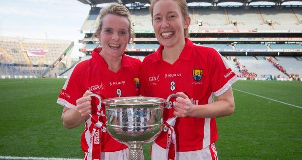 Cork's Briege Corkery and Rena Buckley